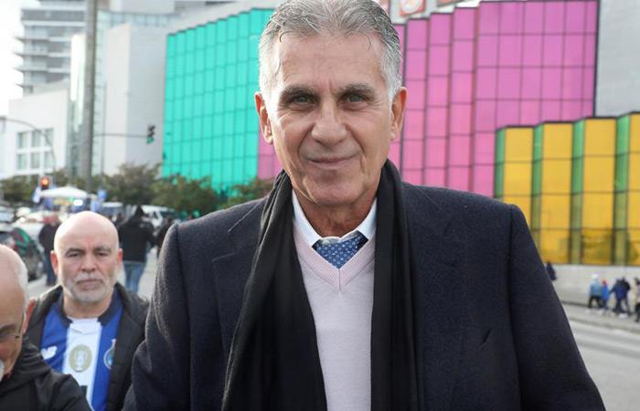 Entrevista Carlos Queiroz James Rodríguez Selección Colombia Copa América