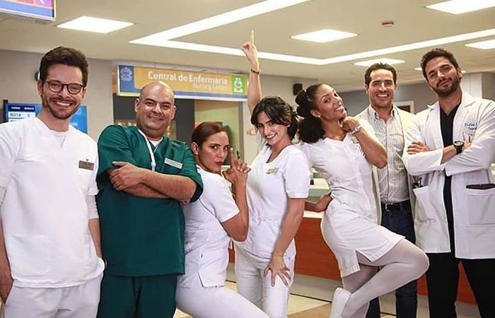 Elenco de 'Enfermeras'. Foto: Instagram