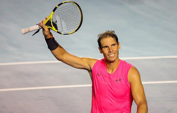Rafael Nadal. Foto: EFE