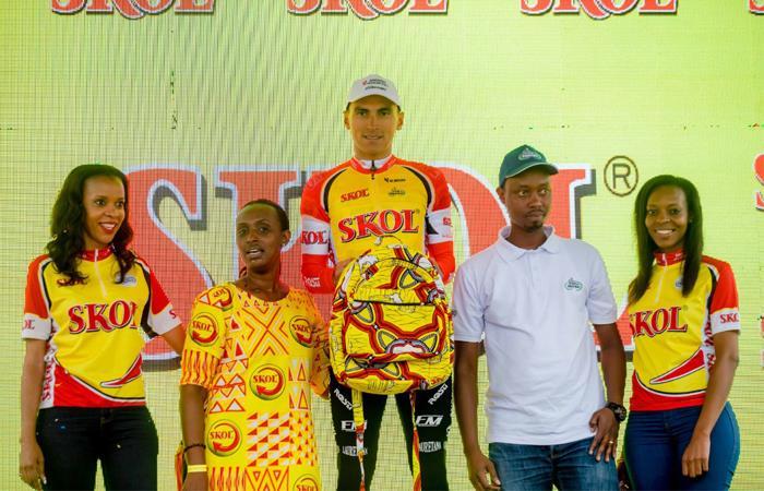Jhonatan Restrepo ganador sexta  etapa Tour de Ruanda