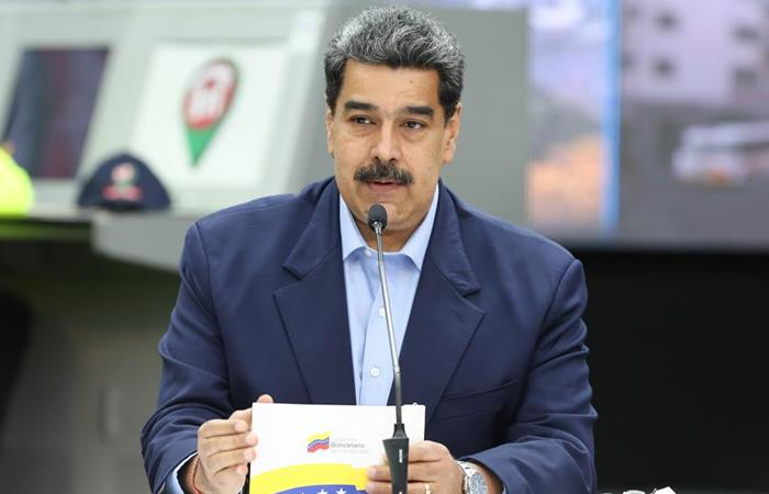 Policía antiterrorista Nicolás Maduro Colombia