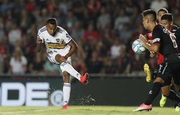 [VIDEO] Villa 'la rompió' en la goleada de Boca Juniors sobre Colón