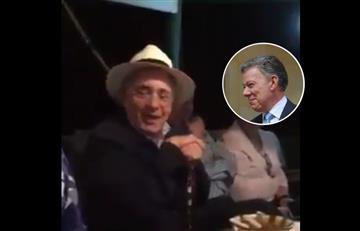 """[VÍDEO] """"No le tengo odio a Santos, le tengo pánico"""". Así se refirió Uribe al Nobel de Paz"""