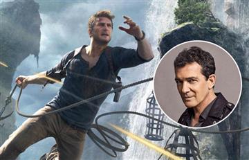 """Antonio Banderas se une al elenco de """"Uncharted"""""""