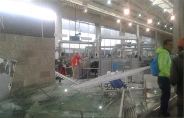 ATENCIÓN: 10 heridos deja la caída de un techo en el portal 20 de Julio
