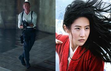 El coronavirus perjudica la industria del cine y retrasa el estreno de James Bond y Mulán