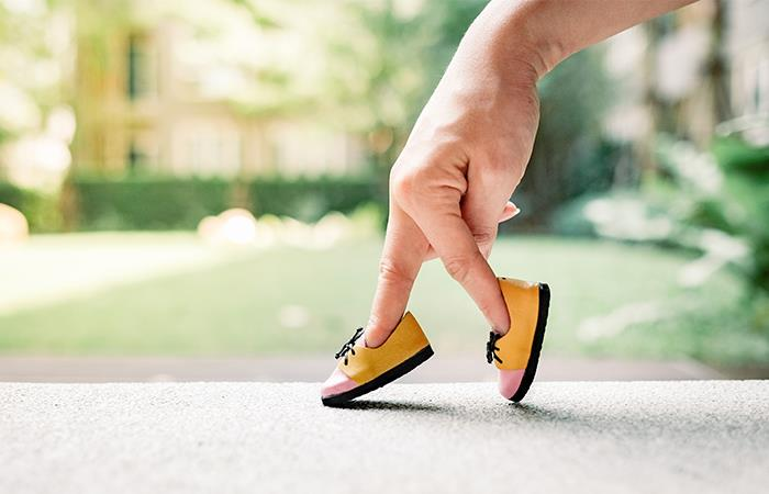 Si caminas rápido eres menos feliz. Foto: Shutterstock