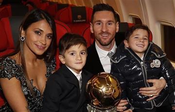 [VIDEO] El hijo de Messi anota golazos como los de su padre con Barcelona