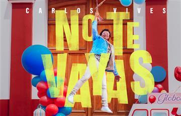 """Carlos Vives mostrará cómo fue el peor día de su vida en su próximo video musical titulado """"No te vayas"""""""