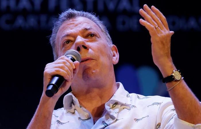 Juan Manuel Santos, expresidente de Colombia (2010-2018). Foto: EFE
