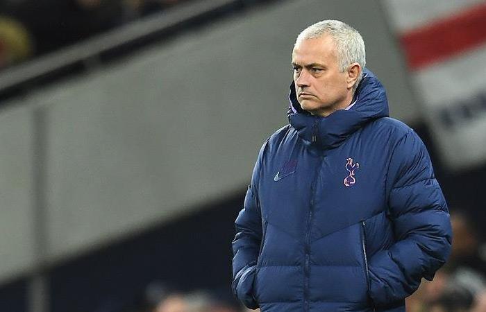 Mourinho, DT de Tottenham. Foto: EFE