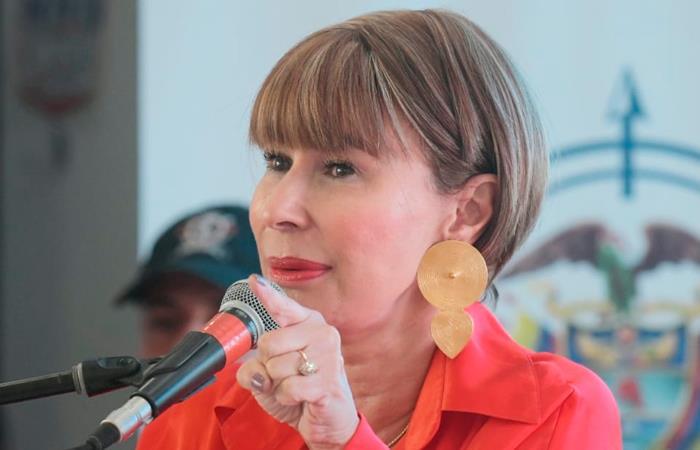 La oposición del Congreso pidió la renuncia de Alicia Arango. Foto: Twitter