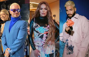 J Balvin, Karol G y Maluma, artistas colombianos que se lucieron en los 'Spotify Awards'