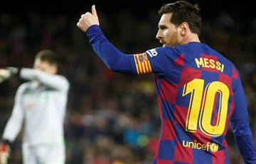 [VIDEO] Lo llaman VARcelona por la dura jugada de Messi sobre un rival