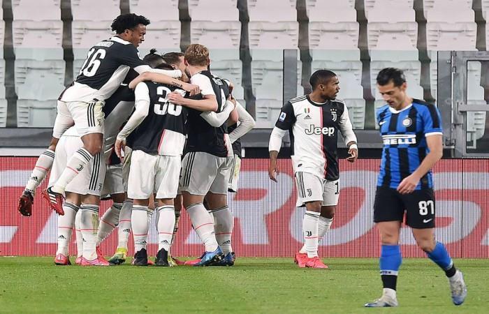 Juventus Inter de Milán Clásico Serie A Italiana tabla de posiciones