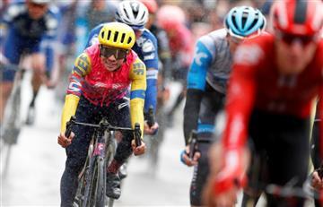 Sergio Higuita es el mejor colombiano tras la primera etapa de la París-Niza