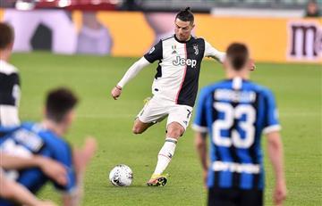 [VIDEO] El gesto de Cristiano con los hinchas 'invisibles' de Juventus