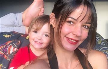 """[VIDEO] """"No te puedes comer eso"""": Maleja Restrepo a su hija después de encontrarle un preservativo"""