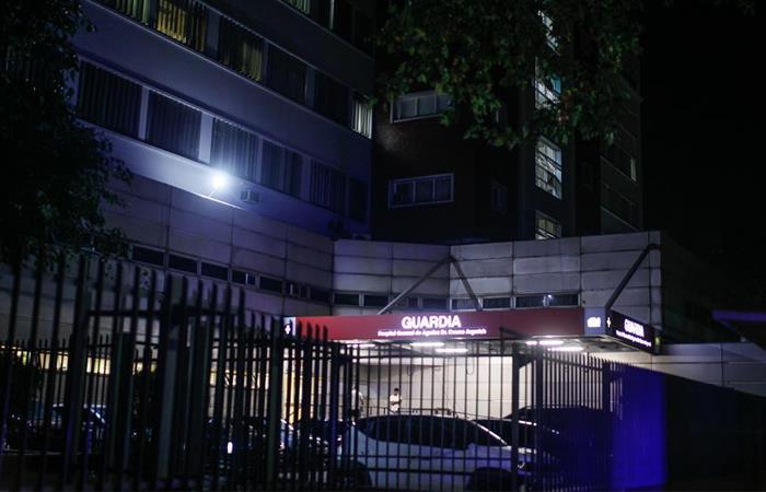 Vista exterior del Hospital Cosme Argerich donde se dio el fallecimiento. Foto: EFE