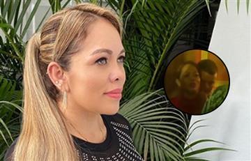 [VIDEO] Ex de Jessi Uribe disfruta una de sus canciones bailando con quien sería su nuevo amor