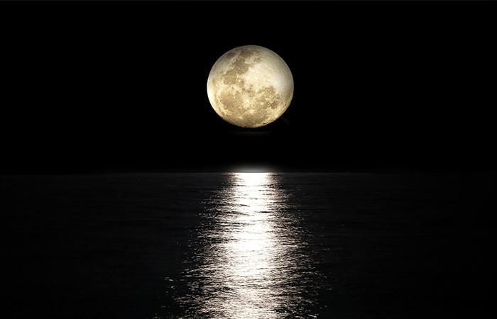 Los efectos de la Superluna. Foto: Pixabay