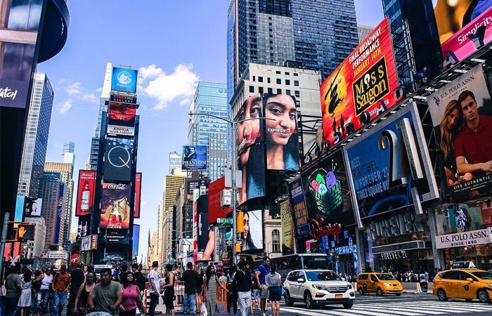 Coronavirus Estados Unidos Teatro Nueva York Broadway