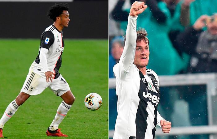 Daniel Rugani compañero Juan Guillermo Cuadrado Coronavirus cuarentena Juventus