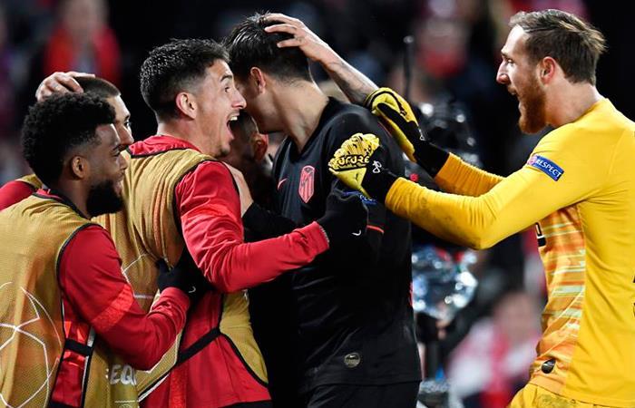 Resultados Champions League partido Liverpool vs. Atlético de Madrid
