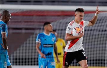 [VIDEO] Borré y Carrascal gritaron gol en la paliza de River a Binacional en Libertadores