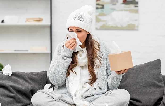 ¿Hacer ejercicio mientras estás resfriado?