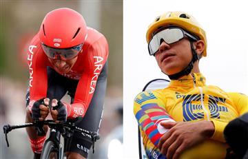 Nairo Quintana y Sergio Higuita siguen en la pelea por ganar la París-Niza