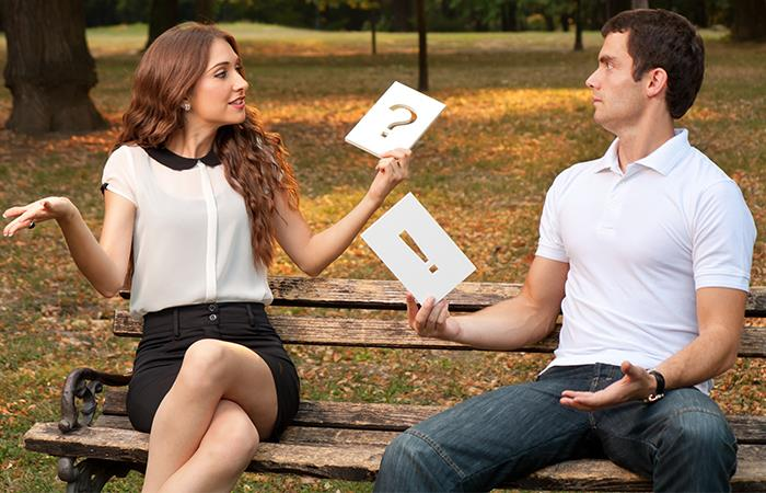 Lo que no debes hablar con tu pareja. Foto: Shutterstock