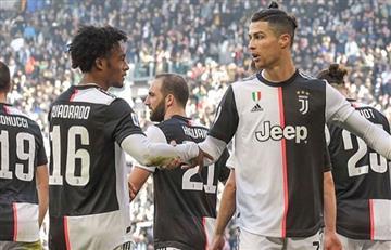 Juventus recolectó más de 1.500 millones de pesos para combatir el coronavirus