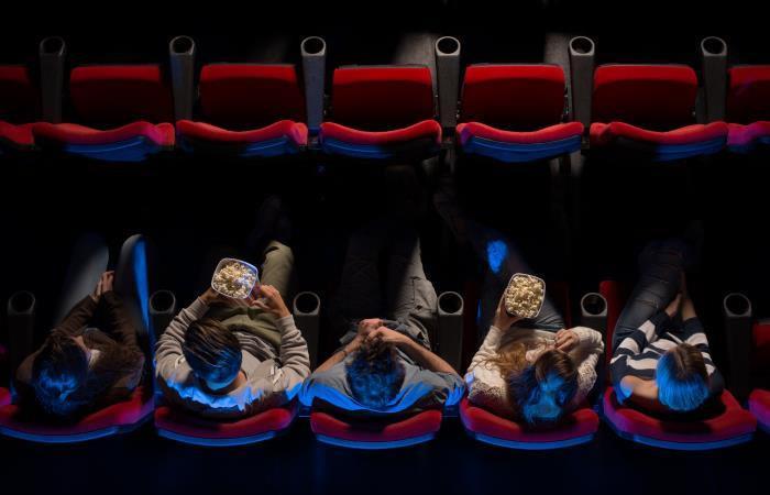 El aforo ya se había reducido en todas las salas de cine. Foto: Shutterstock