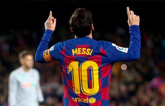 Lionel Messi mensaje ánimo coronavirus