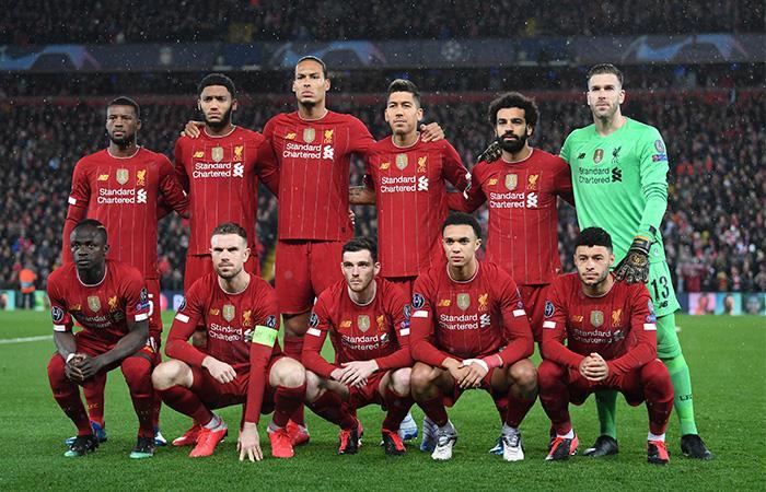 Liverpool es el líder de la Premier League a falta de nueve fechas. Foto: Twitter