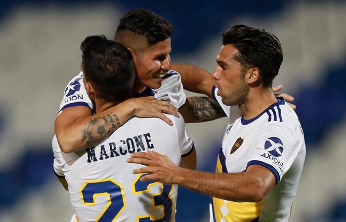 Copa de la Superliga Resultado Godoy Cruz Boca Juniors Jorman Campuzano
