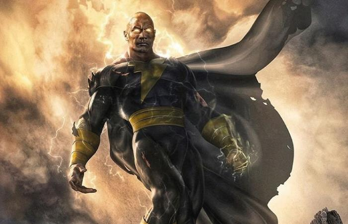 Pelicula Black Adam la roca Dwayne Johnson