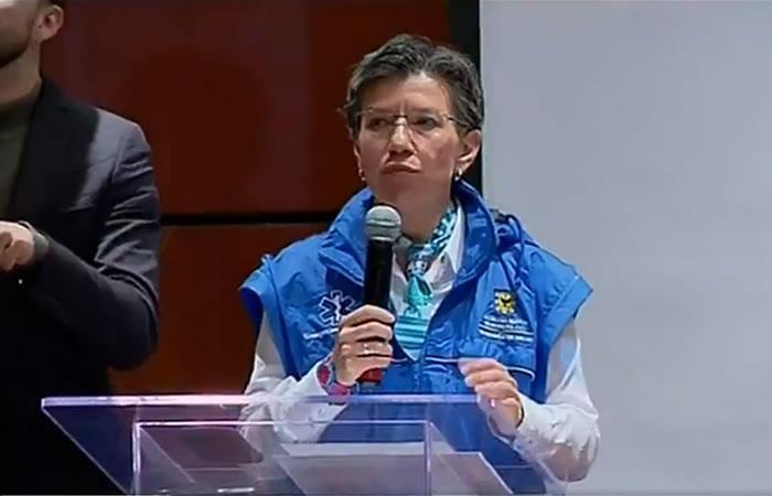 Primera paciente curada del COVID-19 en Colombia. Foto: Twitter