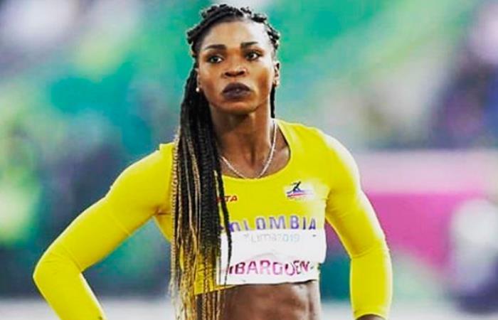 Caterine Ibargüen, atleta colombiana. Foto: Instagram