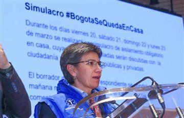 """Alcaldía de Bogotá lanzó """"simulacro de aislamiento obligatorio"""" para el 'puente'"""