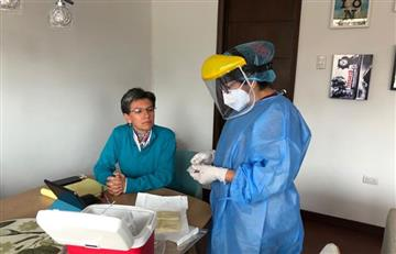 Claudia López se hizo la prueba del Coronavirus