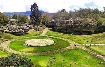 Descubre las bellezas arqueológicas de las Piedras del Tunjo