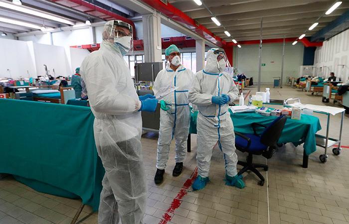 Cifra fallecidos Coronavirus Italia Pandemia COVID 19