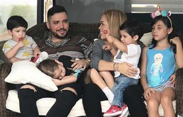 El tierno regalo de cumpleaños que recibió Jessi Uribe de su ex y sus hijos