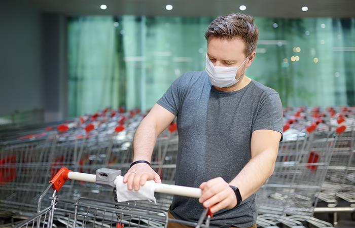 Como hacer compras sin riesgo contagiarse coronavirus