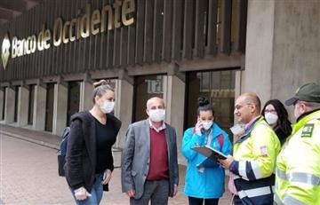 Secretario de Gobierno denunció que entidad bancaria se negó a inspección sanitaria