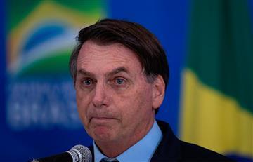 """Presidente de Brasil tilda de """"gripita"""" al coronavirus"""