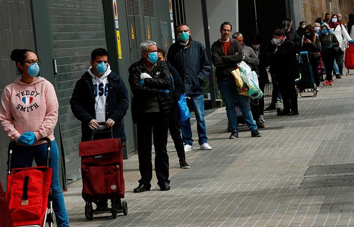 Víctimas Coronavirus España Pandemia COVID-19
