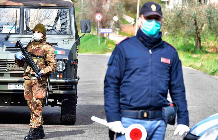 Cifras de víctimas contagiados coronavirus Italia pandemia COVID19